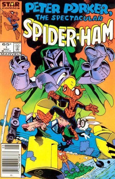 The Spectacular Spider-Ham #1, Marvel Comics (1985).