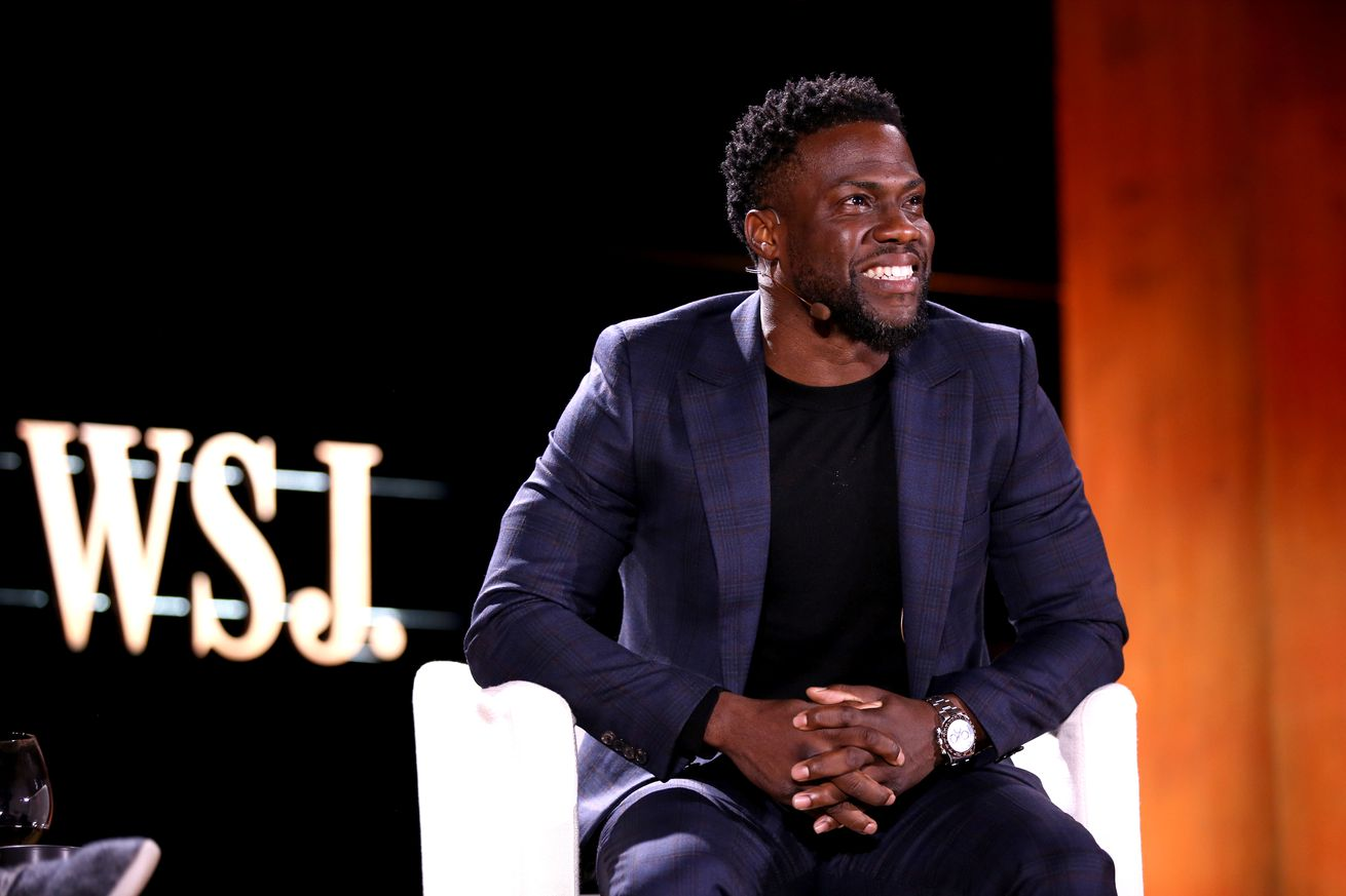 Kevin Hart attends the WSJ Tech D.Live conference on November 13th.