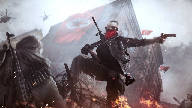 Artwork from <em>Homefront: The Revolution</em>.