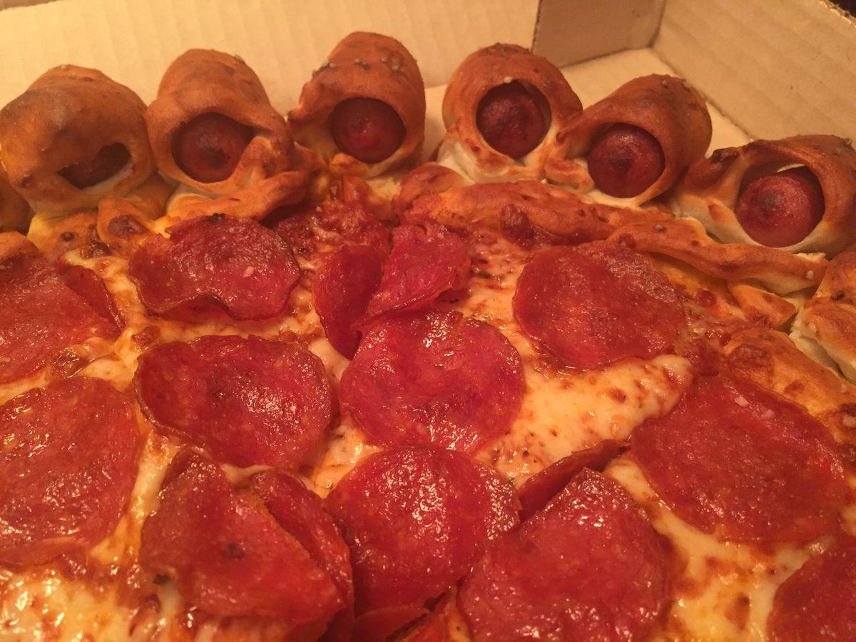 Hot Dog Bites Pizza Bites