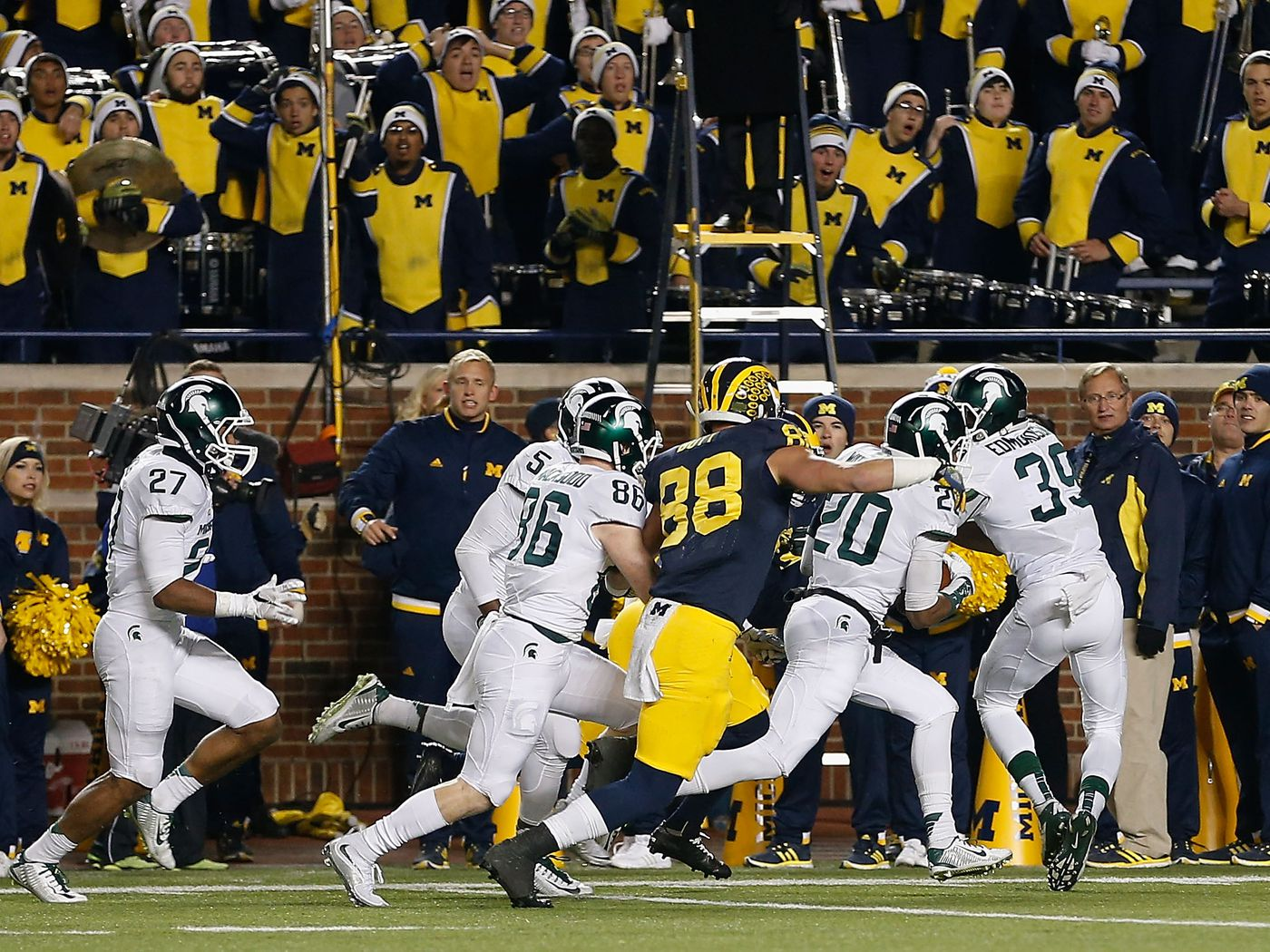 Michigan State Vs Michigan 2015 Wildest Ending Ever