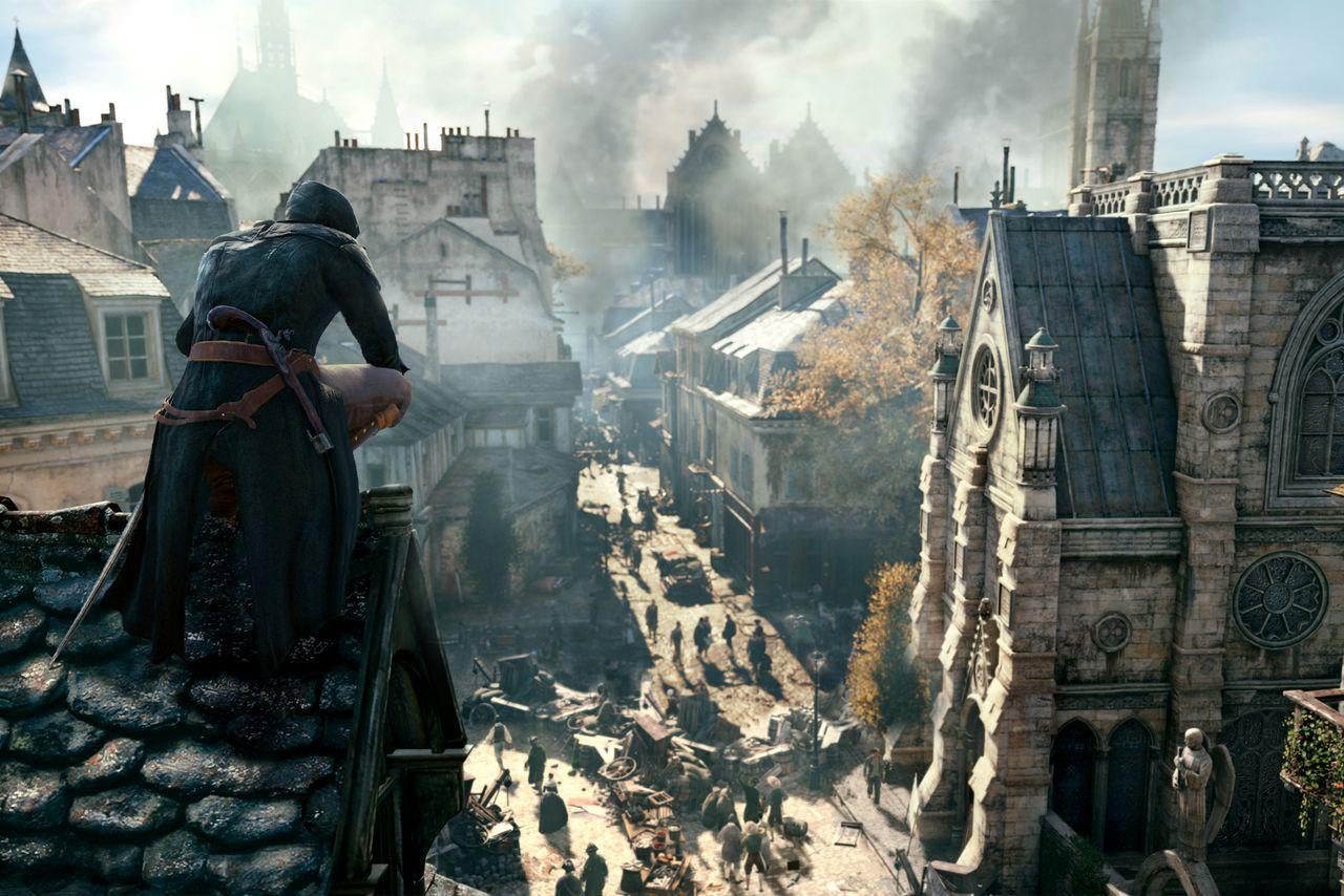 Kết quả hình ảnh cho Assassins Creed Unity