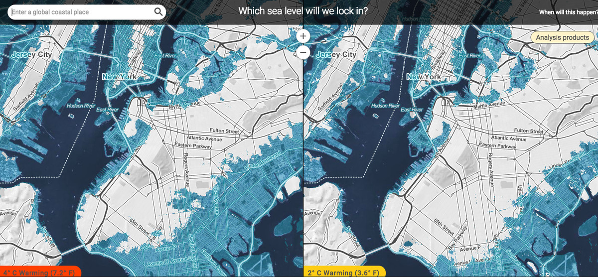 Use these tools to help visualize the horror of rising sea ...