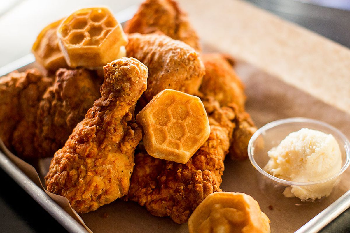 United Center Adds Honey Butter Fried Chicken Mindy S