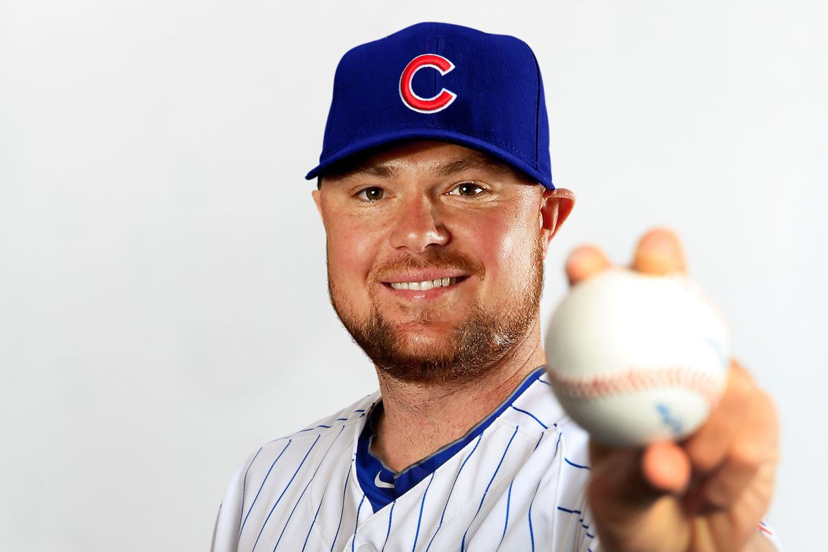 Now you know what Jon Lester would look like in a Cubs uniform -- and we'll see this, for real, soon!
