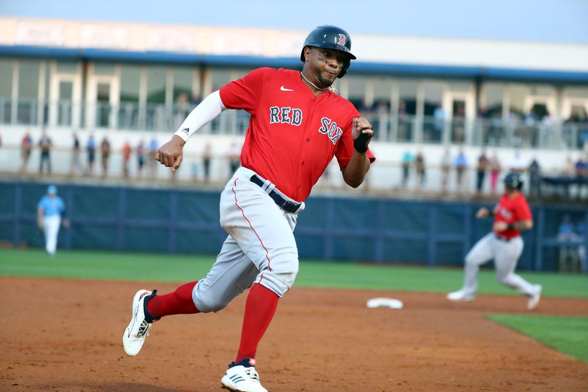 MLB: Spring Training-Boston Red Sox at Tampa Bay Rays