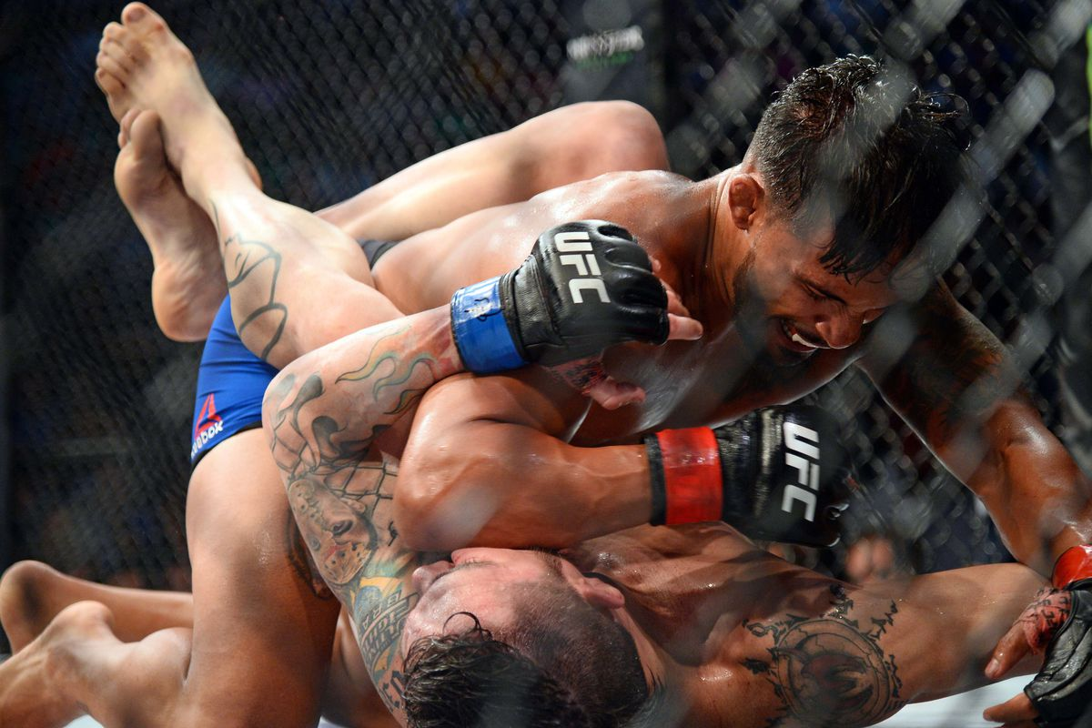 MMA: UFC Fight Night-Bermudez vs Jason