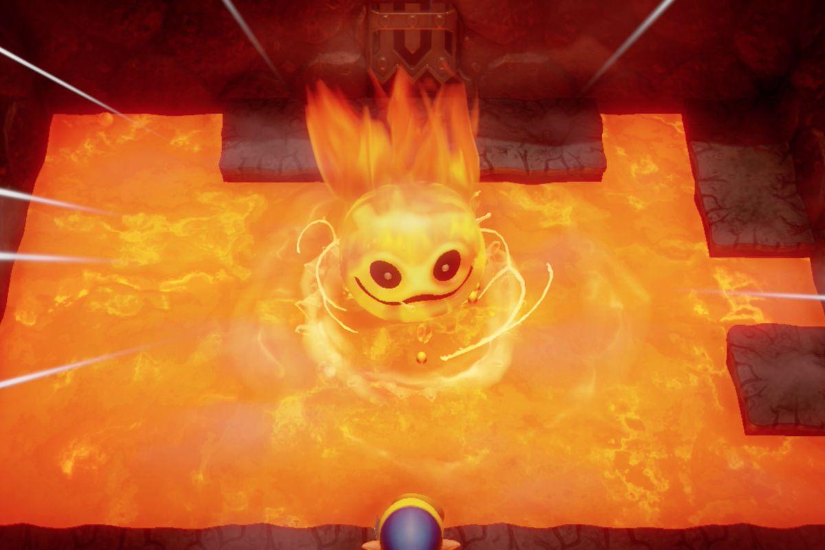 Link's Awakening Turtle Rock dungeon walkthrough