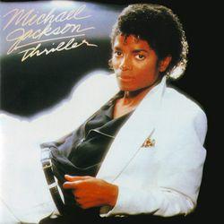 """""""Thriller"""" album cover 1982"""