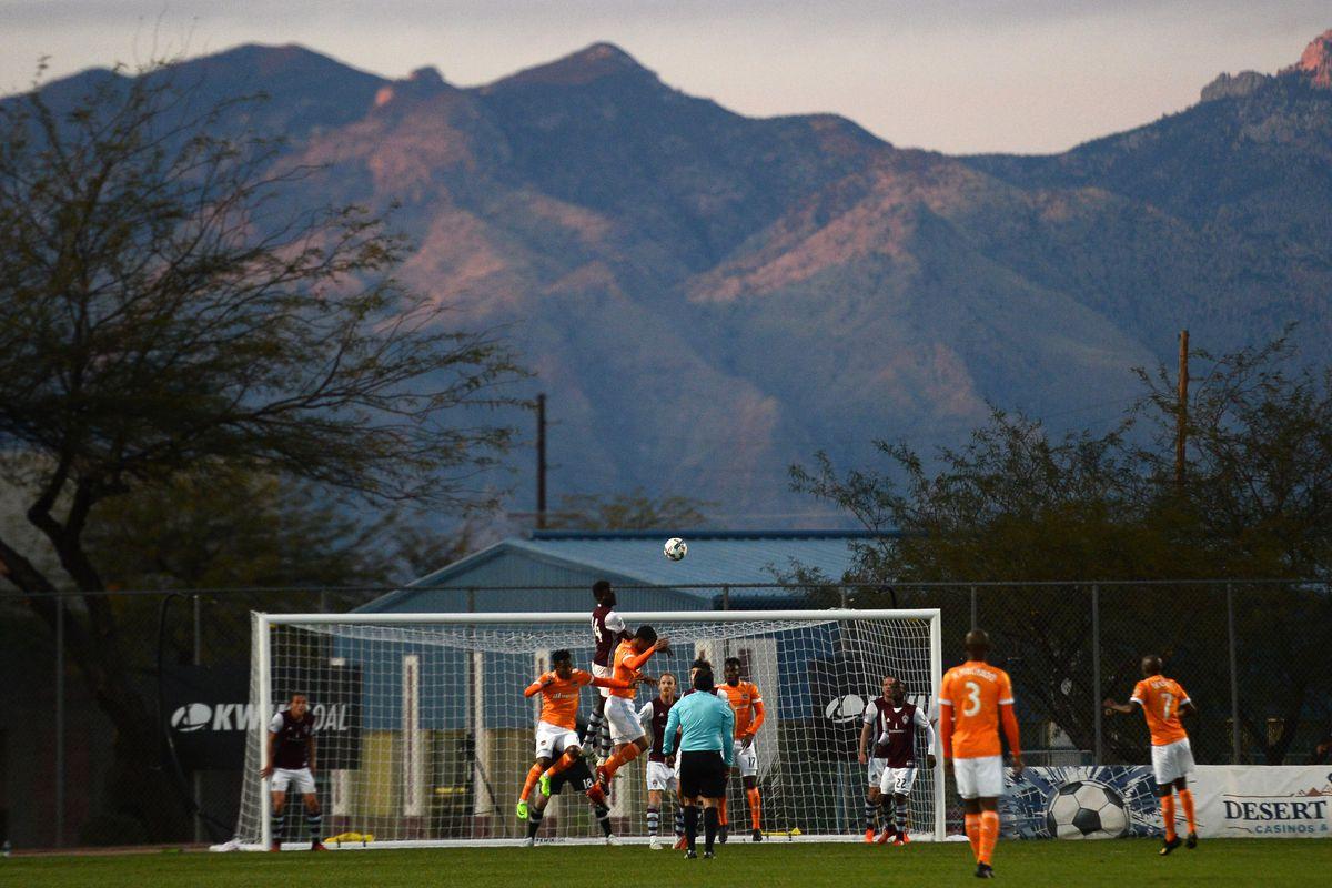 MLS: Houston Dynamo vs Colorado Rapids