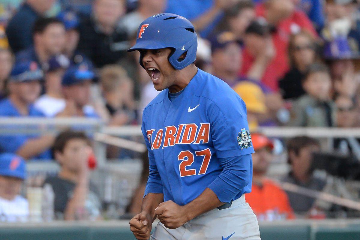 new styles 77a06 5799f Florida vs. LSU 2017, College World Series score: Gators ...