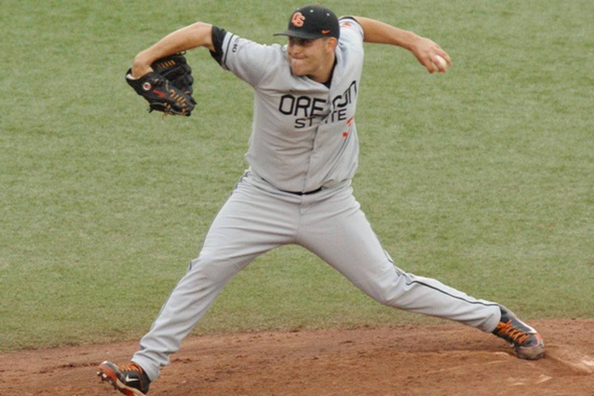 Matt Boyd was named the Pac-12 Pitcher of the Week for the second time this season, after his 2-hitter improved him to 4-0 for the season, and 15-1 in his Oregon St. career.