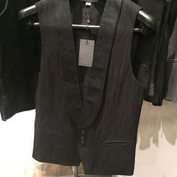 Collection vest, size 46, $179 (from $550)