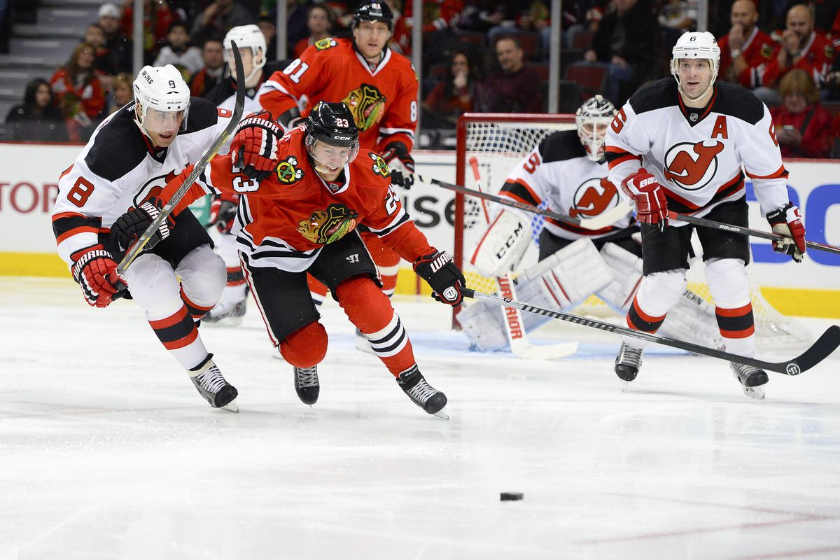 Tonight will certainly be a battle as the Devils are playing the best team in hockey, Chicago.