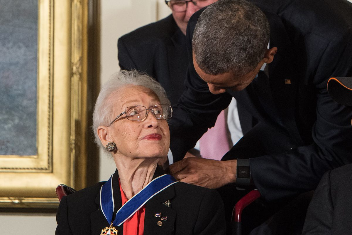"""Katherine Johnson, NASA's """"Hidden Figures"""" mathematician, died Monday. Her  legacy is immense. - Vox"""