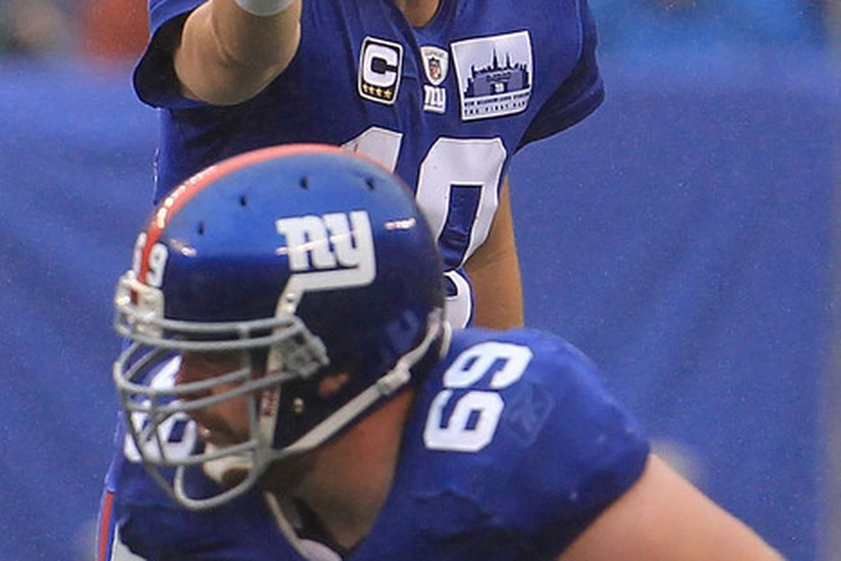 <strong>Eli Manning</strong> is much better prepared to go up against his brother Peyton now than he was back in 2006.  (Photo by Chris McGrath/Getty Images)