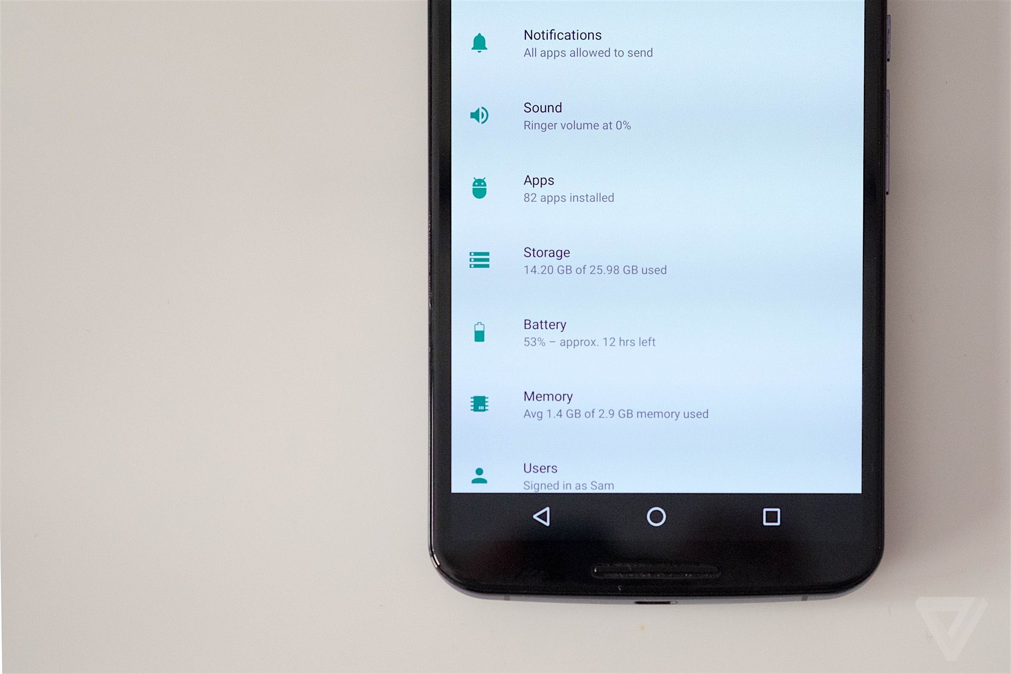 The 8 biggest new features in android n the verge android n nexus 6 biocorpaavc Image collections