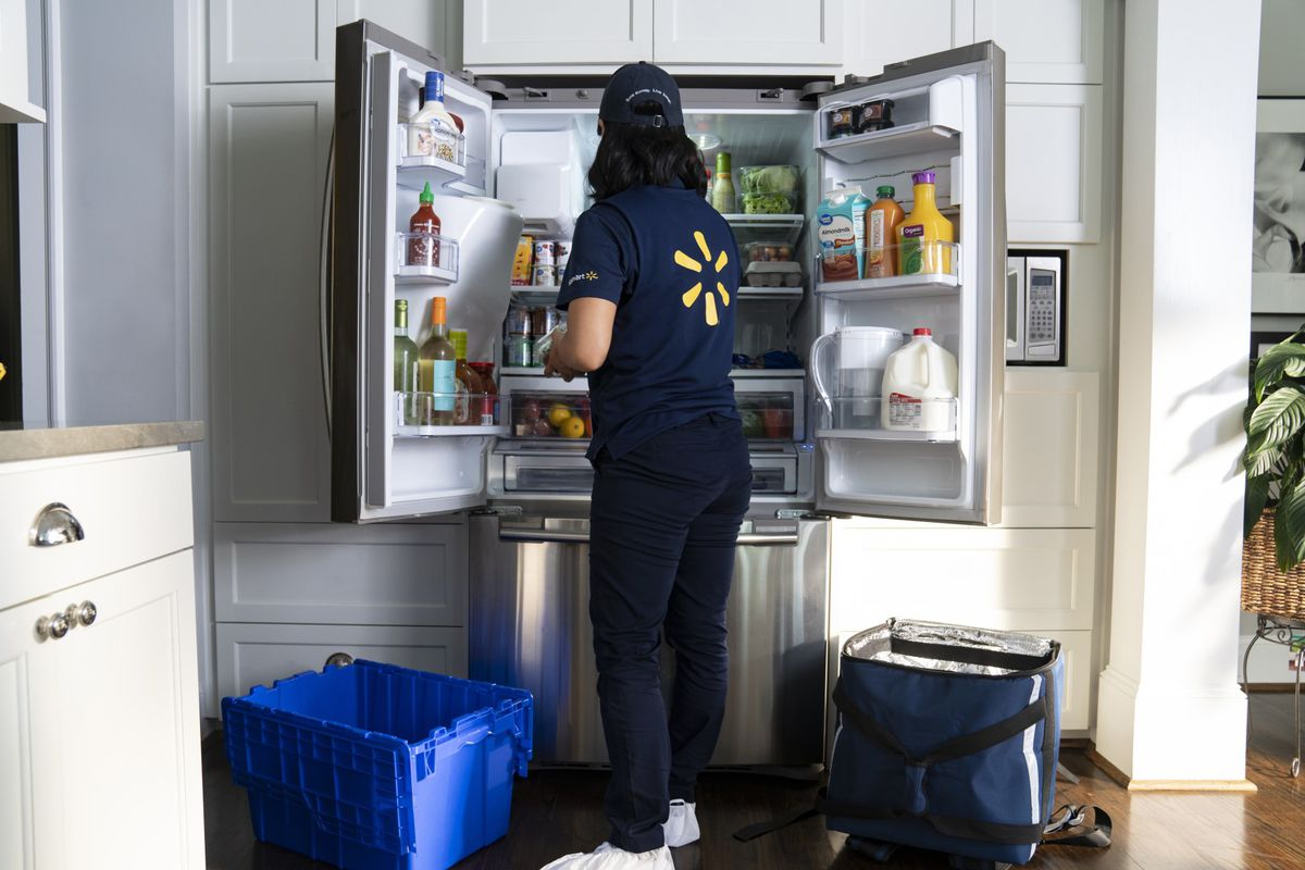Walmart Will Now Deliver Groceries Right To Your Fridge With