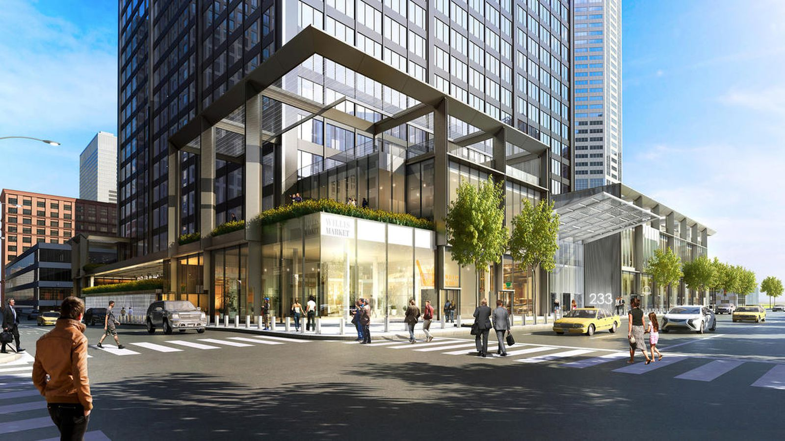 Work to begin on Willis Tower's new three-story retail and entertainment annex