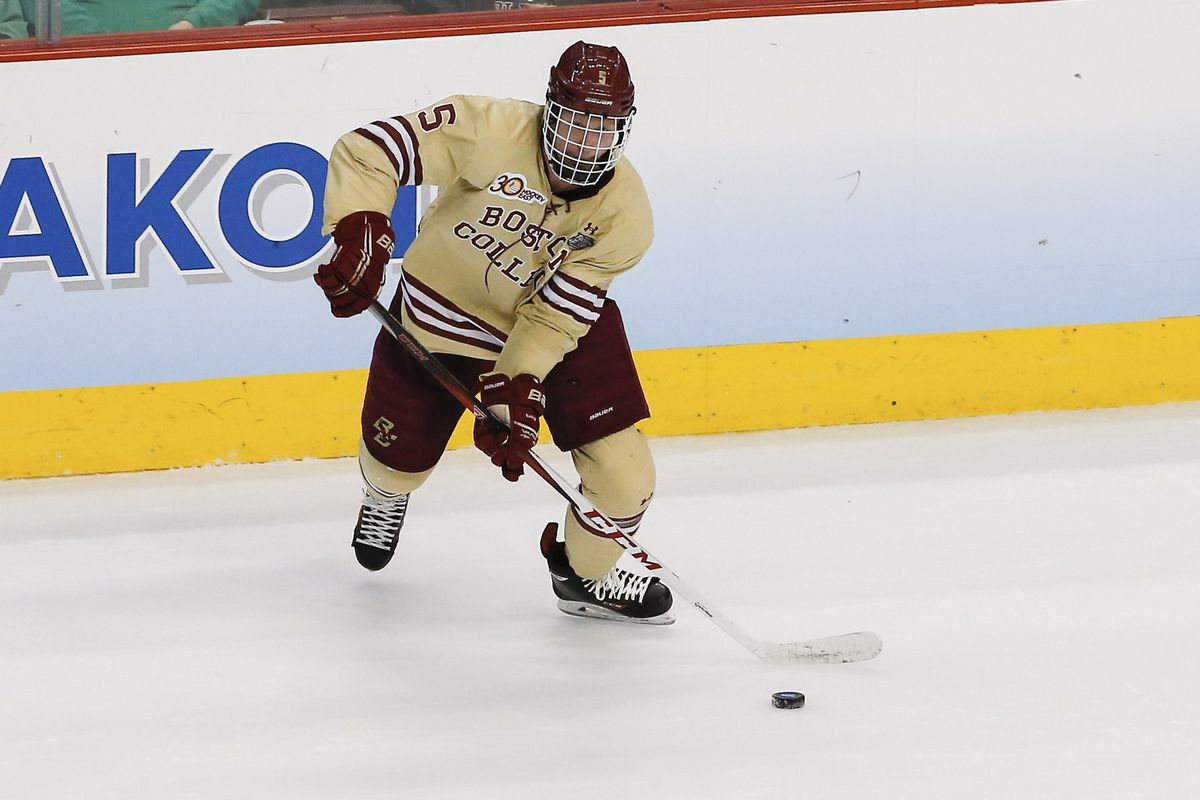Friday wasn't a night to remember for Boston College junior defenseman Michael Matheson or any of the other Eagle defenders.