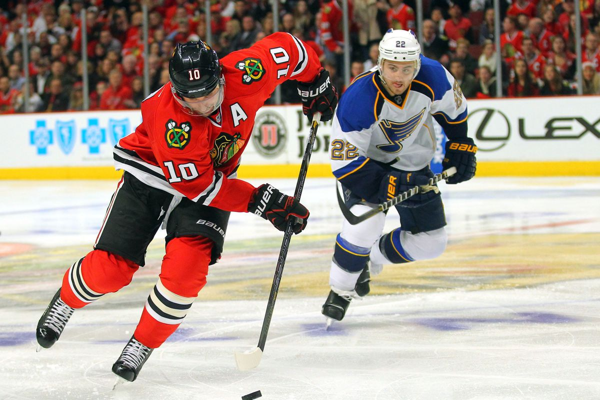 Blackhawks vs blues game preview rivals meet in st louis second dennis wierzbicki usa today sports m4hsunfo