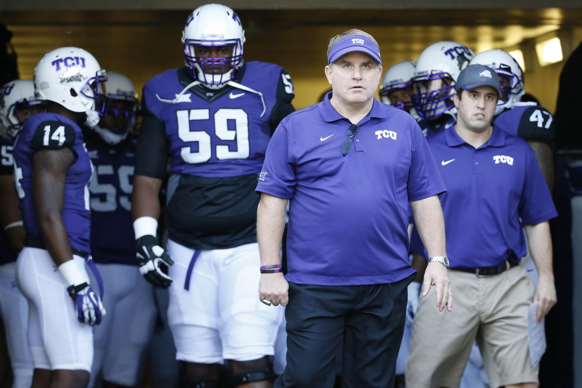 TCU s Gary Patterson on missing College Football Playoff   Conference  championship games shouldn t have mattered.  a931d138e