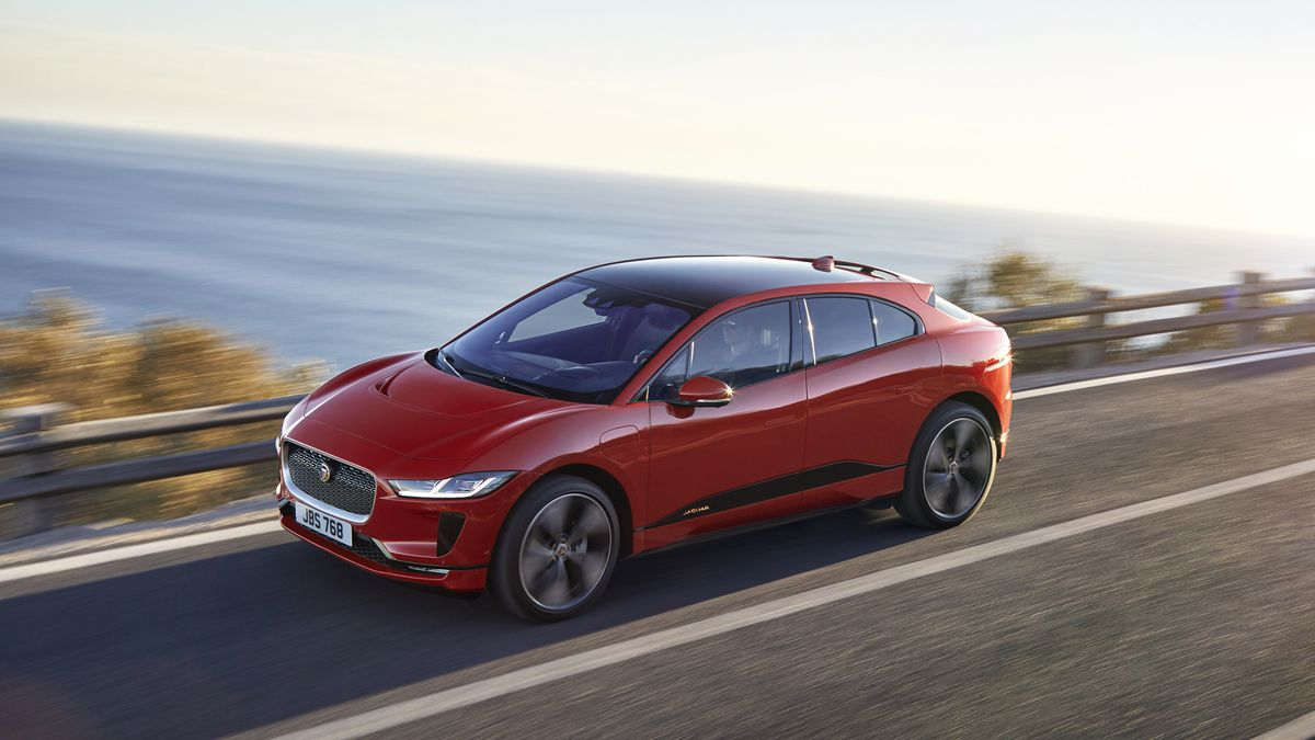 Jaguar I-Pace Makes 394 HP From All-Electric Powertrain