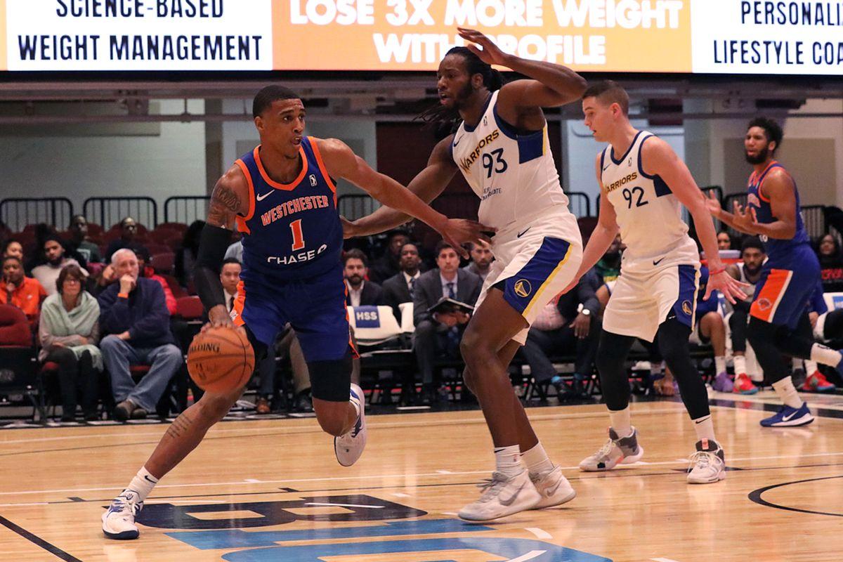 Santa Cruz Warriors v Westchester Knicks