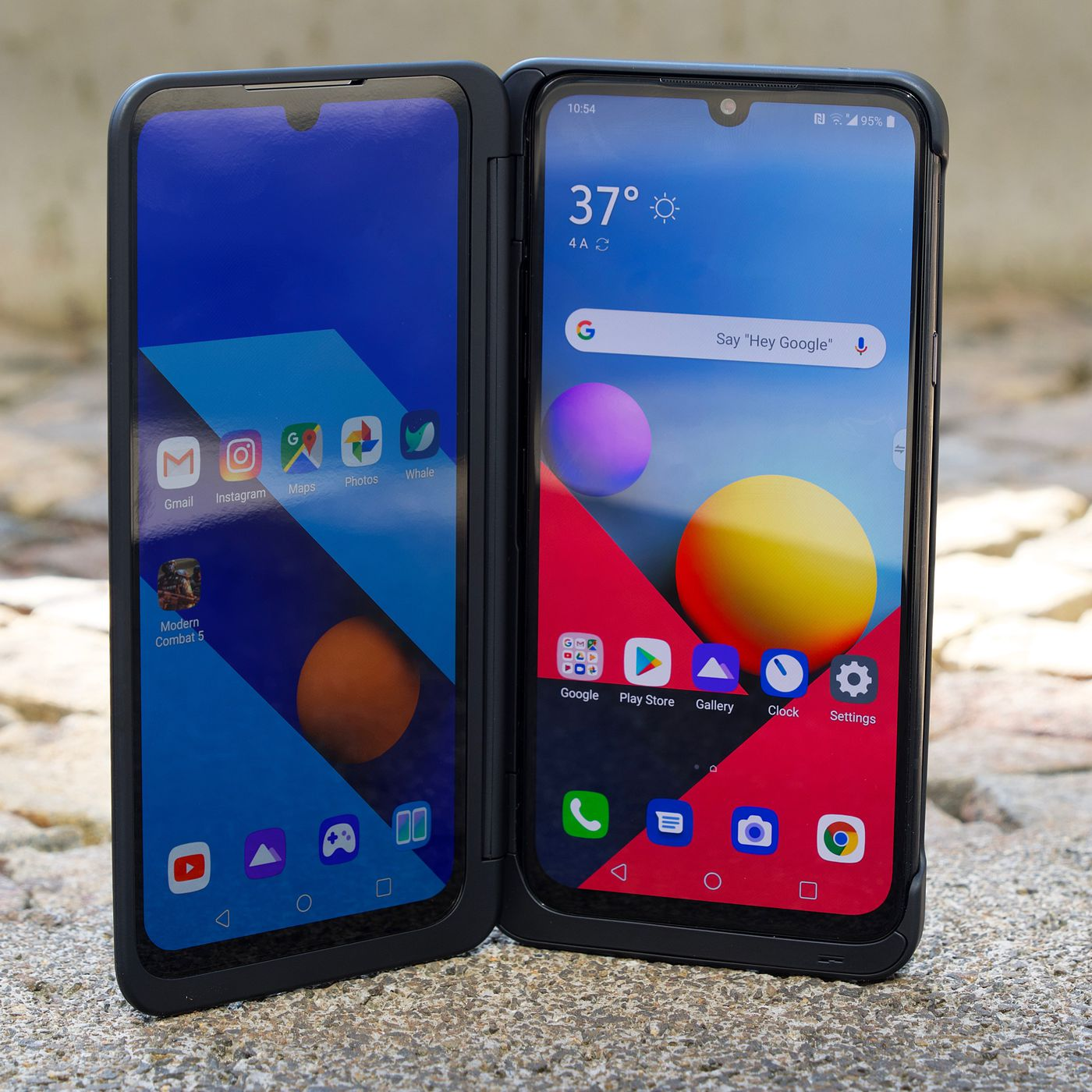 LG's new G8X ThinQ bets that two screens are better than a
