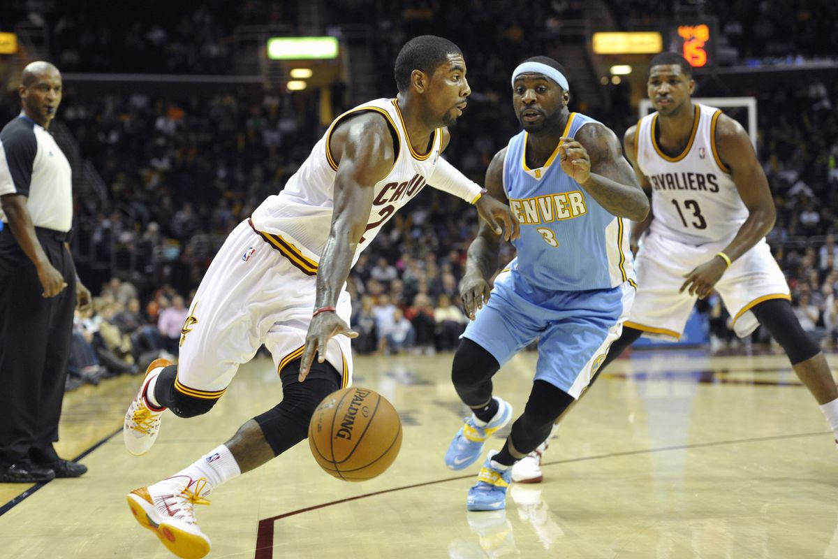 Kyrie Irving and Ty Lawson