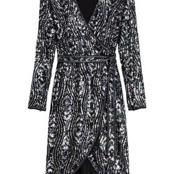 Sequins dress, $325