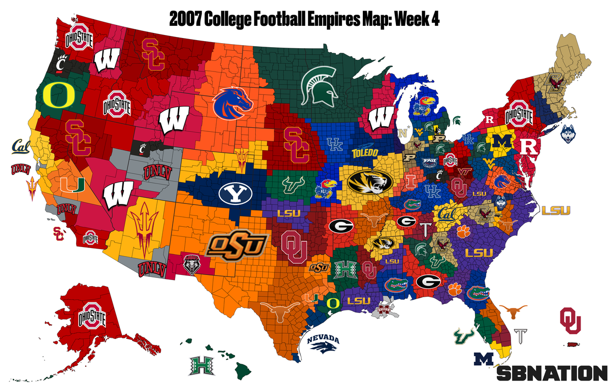2007 college football: Empires Map guide to the wildest season ever ...