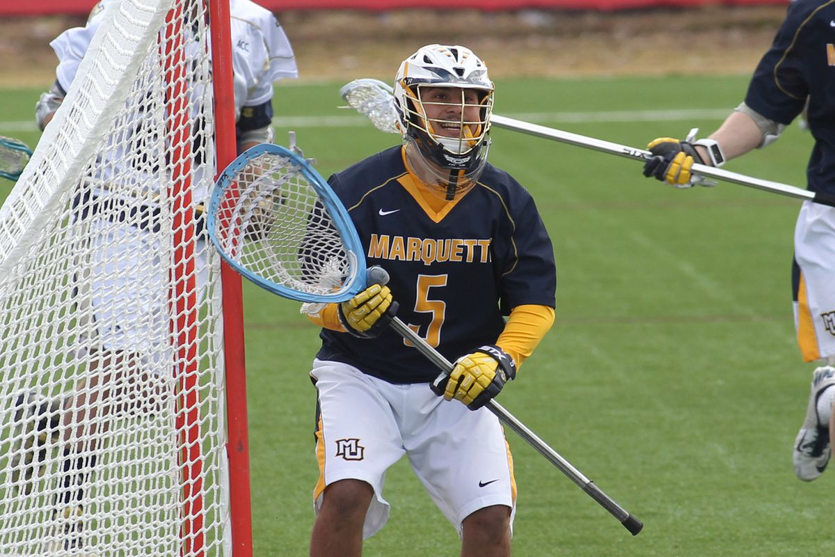 Jimmy Danaher made 12 saves vs Ohio State, including one as time expired.