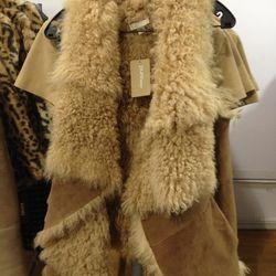 Shearling Vest ($500)