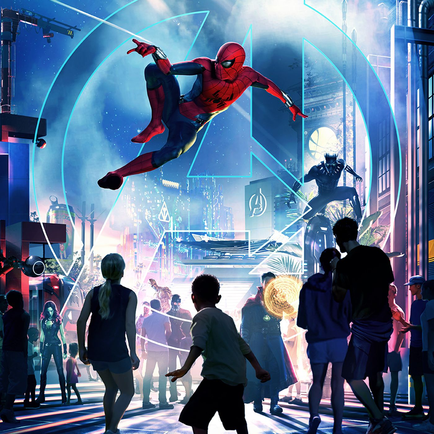 Disney Is Bringing Immersive Marvel Lands To Its Theme Parks The