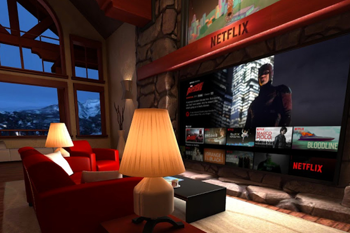 This is what it 39 s like to watch netflix in virtual reality for Vr house