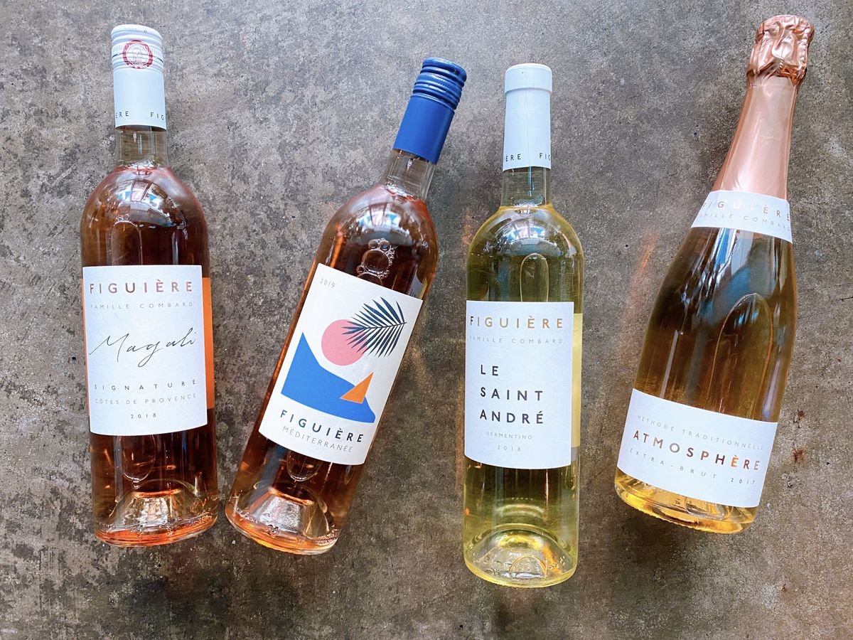 Aviary's brunch tasting with Provençal wines