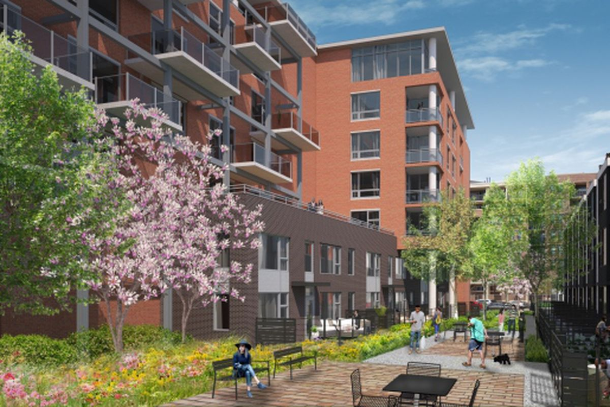 Mid Rise Apartments Townhomes Planned For Oak And Larrabee In Chicago S Cabrini Green