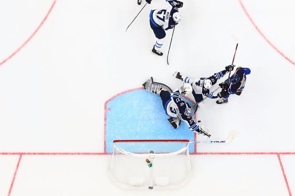 Winnipeg Jets v St. Louis Blues