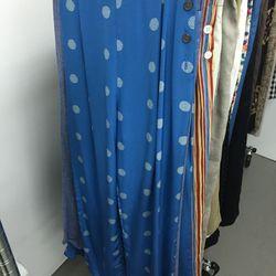 Blue pants, $75