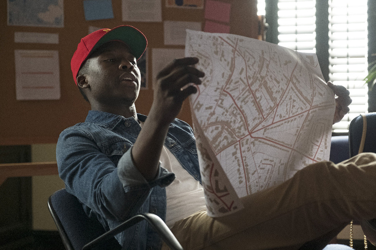 Brandon Micheal Hall as Courtney Rose in 'The Mayor'