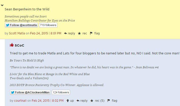 Blogger trade