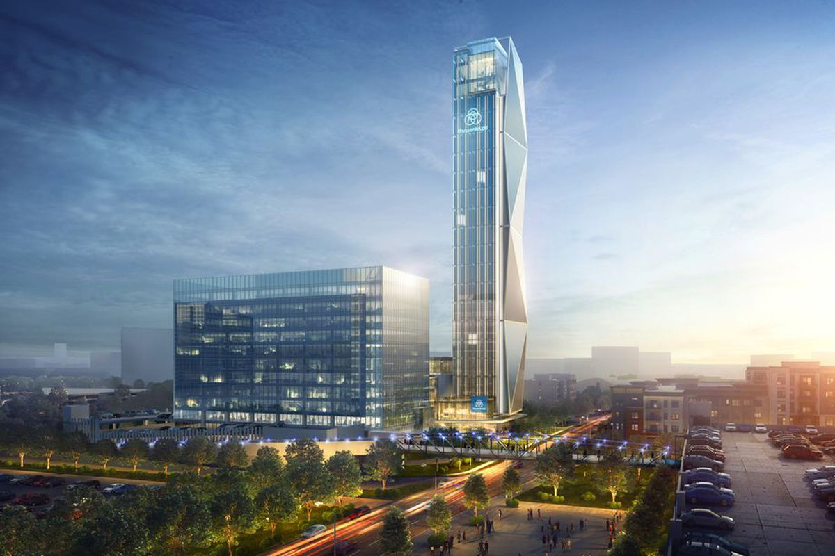 acb77b4241f New North American headquarters of elevator giant thyssenkrupp is called  company s highest profile project