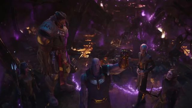 Thanos and the Black Order — or the Children of Thanos, as they're known in <em>Avengers: Infinity War</em>.