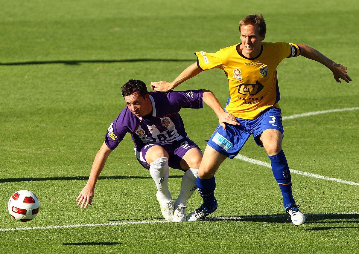 A-League Rd 26 - Glory v Gold Coast