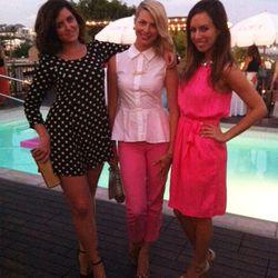Far right: fashion blogger/stylist/TV host Sydne Summer
