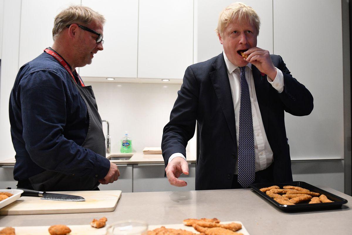 Boris Johnson Campaigns Tour Visits Midlands And Northwest