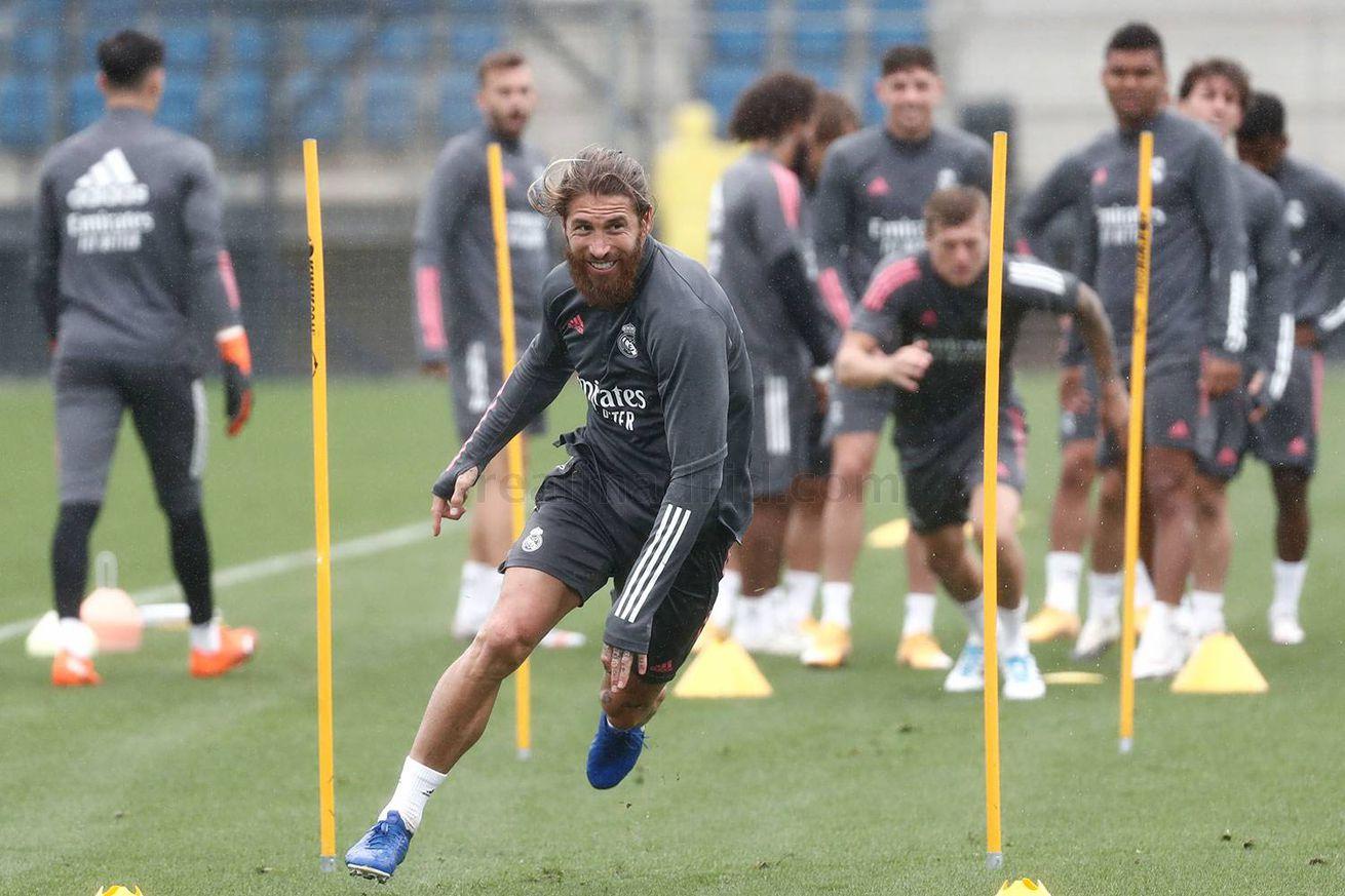 Real Madrid Training: September 19