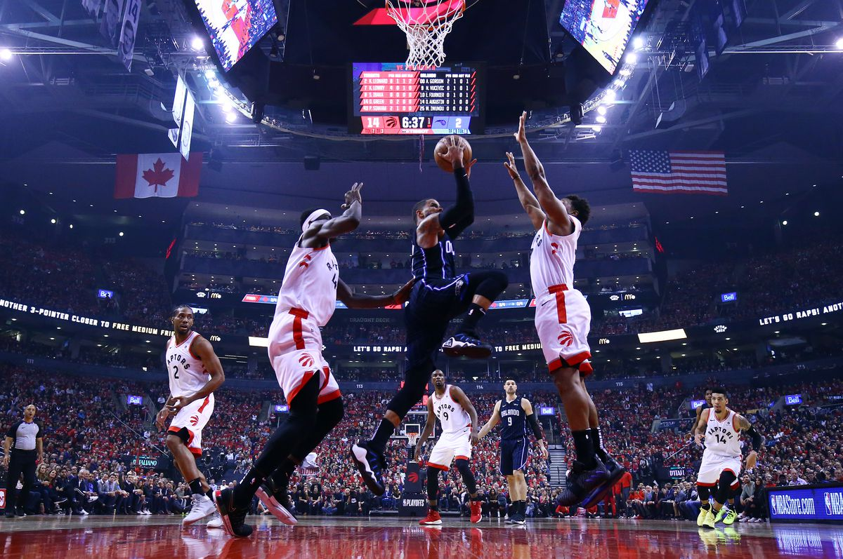 Orlando Magic v Toronto Raptors - Game Two