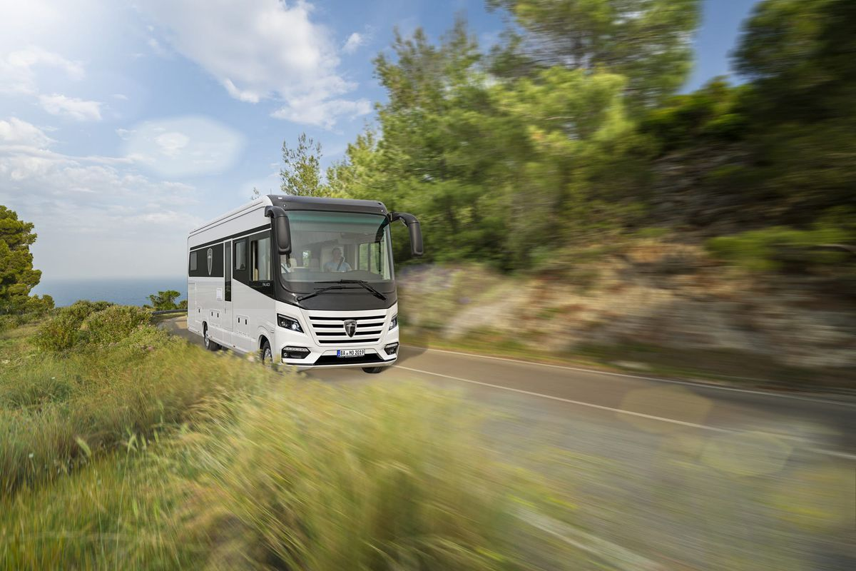 Germany Based Morelo Reisemobile Will Debut A New Palace Motorhome At This Years Dusseldorf Caravan Salon All Photos Courtesy Of